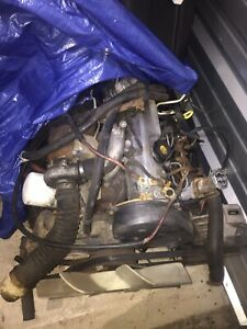 1987 Ford Ranger Mitsubishi 4d55t Turbo Diesel Engine