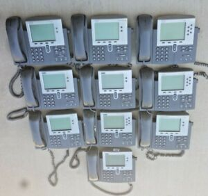 10 phones cisco Ip Phone 2 7940 2 7941 2 7942 4 7960