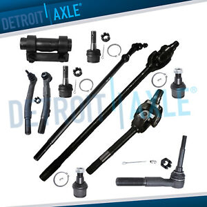 11pc Front Axle Shafts Suspension Kit For 4x4 Dana 60 2005 2012 Ford F 250 F 350