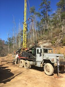 Bucyrus Erie 22w Cable Service Drilling Rig 1250 Ft Rated