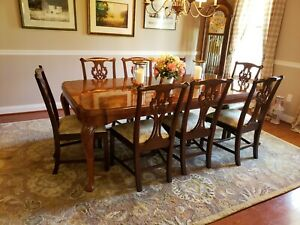 Henkel Harris Dining Chairs Set Of 8 Excellent Condition Purchased In 2007