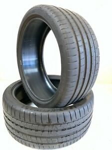 2 Michelin Pilot Super Sport To Xl 265 35 21 Used Tires 2017 Dot 101y 2653521