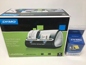 Dymo Labelwriter 450 Twin Turbo Label Printer For Pc And Apple Mac