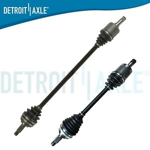 Pair 2 Front Cv Axle Shafts For 1992 2001 2002 2003 2004 2005 Honda Civic