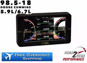 Smarty S2g Touch Screen Tuner Programmer For 98 5 18 Dodge Ram Cummins 5 9 6 7l