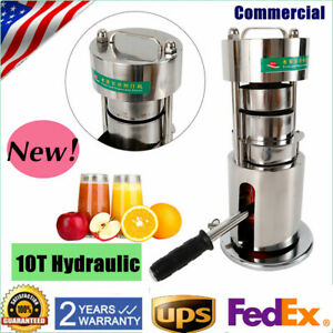 Commercial Manual Sugar Cane Press Juicer Hydraulic Juice Machine Extractor Mill