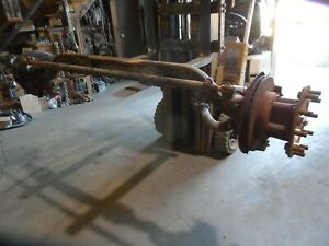 05 Ford F650 Front H Beam Axle Assembly Hydraulic Brake Complete F750 091906