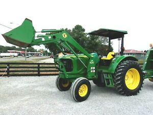 John Deere 6215 Tractor 2wd Loader low Hrs delivery 1 85 Per Loaded Mile