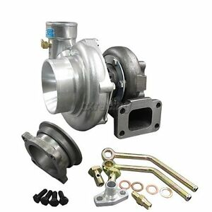 Cxracing Universal Gt35 Turbo Charger T3 For Civic Prelude Mustang Oil Fitting