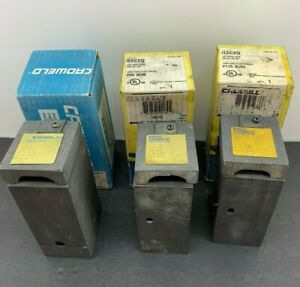 Used Erico Cadweld Welding Molds Lot Concentric Run Tap Run To Steel Surface
