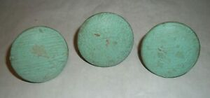 3 Large Antique Maple Wood Drawer Pulls Knobs From Antique Chest Of Drawers