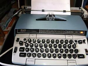 Vintage Typewriter Smith Corona Electric Electra 120 150 Obo
