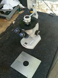 Carl Zeiss Industrial Commercial Inverted Microscope Full Objectives New Low