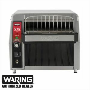Waring Cts1000cnd Commercial Heavy Duty Conveyor Toaster Genuine