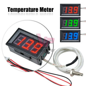 Xh b310 Industrial Digital Thermometer 12v Temperature Meter K type Thermocouple