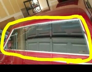 1966 1969 Lincoln Continental Coupe Only Rear Window Trim 5 Pieces Only