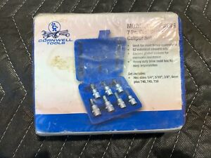 Cornwell Cbs Dbc7s 7 Piece Disc Brake Caliper 7pc Kit Torx Hex Heads