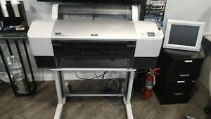 Epson Stylus Pro 7880 24 Wide Format Printer Plotter Barely Gently Used