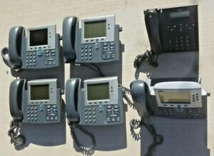 Variety Of Cisco Ip Phones 6 Count 7040 7945 7960 Cp6945