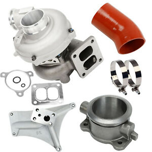 For 94 97 Ford 7 3 Gtp38 Turbo Charger Kits Pedestal Exhaust Housing Tube Hose