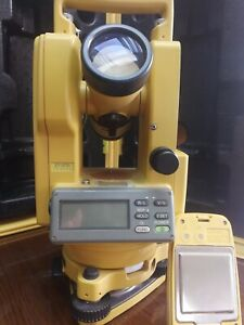 Topcon Dt 200 Series dt 205 Advanced Digital Theodolite 2015