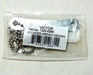 Victor Acetylene Tank Cylinder Wrench B Mc Size 3 16 Square Chain Welding