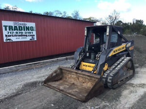 2008 New Holland C175 Compact Track Skid Steer Loader W 2 Spd High Flow