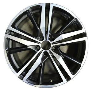 19 Volvo S60 V60 2019 Factory Oem Rim Wheel 70473 Satin Black Machined