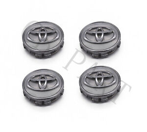 Set Of 4 Oem Toyota Camry Avalon 42603 06080 Wheel Center Caps Hubcaps 62mm