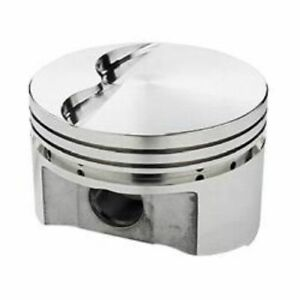 Srp 138085 Flat Forged Pistons 4 030 Bore 8 Set For Small Block Chevy 350 400