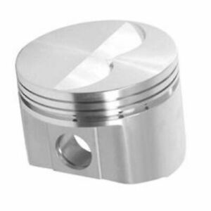 Srp 213457 Flat Forged Pistons 4 375 Bore Set Of 8 For Mopar Big Block 400 440