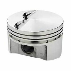 Srp 138100 Flat Forged Pistons 4 155 Bore 8 Set For Small Block Chevy 350 400