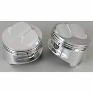 Srp 142025 Forged Dome Pistons 4 165 bore Set Of 8 For Small Block Chevy 350 400