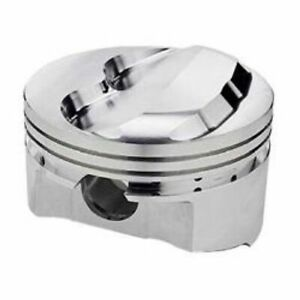 Srp 140679 Forged Dome Pistons 4 040 bore Set Of 8 For Small Block Chevy 350 400
