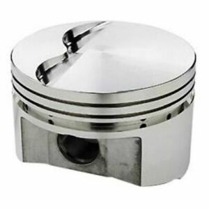 Srp 142070 Flat Forged Pistons 4 040 In Bore Set Of 8 For Sb Chrysler 340 360