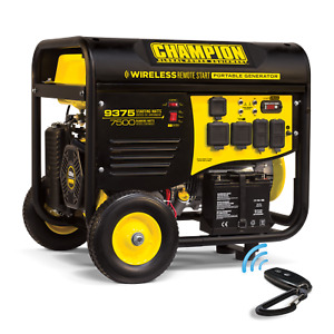 Champion 100161 7500 watt Rv Ready Portable Generator W wireless Remote Start