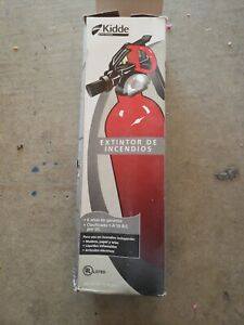 Kidde Fa110 Multi Purpose Fire Extinguisher 1a10bc 1 Pack Open Box