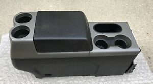 2004 2008 Ford F150 Floor Shift Shifter Center Console And Lid Oem