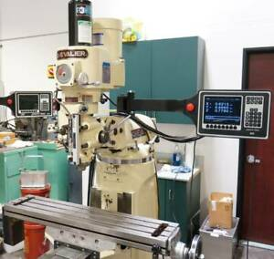 Chevalier Bridgeport type Milling Machine Proto Trak Cnc