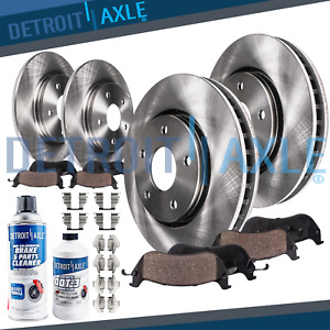 For Lexus Gs300 Gs400 Gs430 Is300 Front Rear Disc Brake Rotors Ceramic Pads