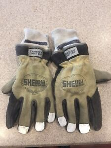 Shelby 5285l Firefighter Turnout Gloves Large Used