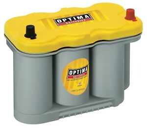 Optima Batteries 8037 127 D27f Yellowtop Starting And Deep Cycle Battery
