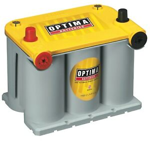 Optima Batteries 8042 218 D75 25 Yellowtop Deep Cycle Battery Yellow Top