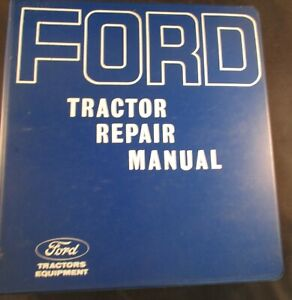 Ford 2000 3000 4000 And 5000 Tractor Repair Service Manual