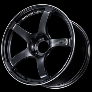 Advan Tc4 18x9 5 5x114 3 12 Racing Gunmetallic And Ring Wheel