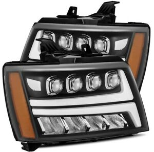 07 14 Tahoe Full Led Drl Projector Headlights Worldwide Shipping