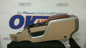 2011 12 Ford F150 King Ranch Center Floor Console Tan