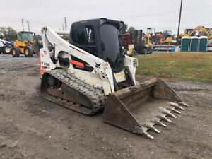2011 Bobcat T750 Compact Track Skid Steer Loader W Cab 2spd High Flow 2800hrs