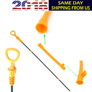 Fits For Vw Volkswagen Beetle Golf Jetta 2 0l Dip Stick Oil Dipstick Tube New