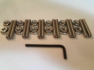 Big Block Mopar Valve Cover Studs Stainless Steel 1 5 Long Stud 361 383 400 440